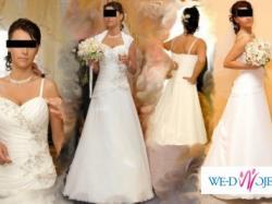 Sprzedam suknię ślubną jedwabną