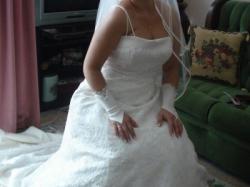 Sprzedam suknie ślubną justina Alexandra