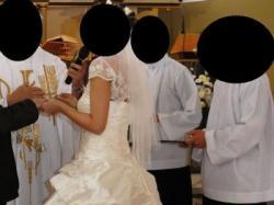 sprzedam suknię ślubną Karina, ecru, rozm. 38