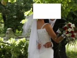 Sprzedam Suknię Ślubną Karina z Welonem Rękawiczkami i Diaden