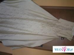 Sprzedam suknię ślubną kolor ecri 39/40 gorset+spódnica