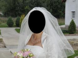 Sprzedam suknię ślubną kolor ecru
