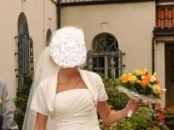 Sprzedam suknie ślubną kolor ecru