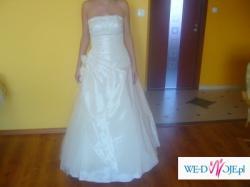 Sprzedam suknię ślubną, kolor ecru GDAŃSK