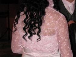 Sprzedam suknie ślubna koloru jasny róz+butki