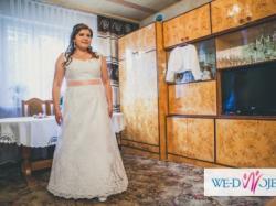 Sprzedam suknię  ślubną koronkową
