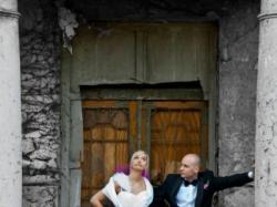 Sprzedam suknię ślubną krótką
