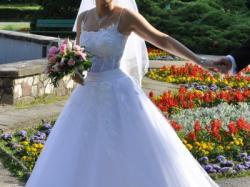 """Sprzedam suknię ślubną(""""księżniczkę"""")"""