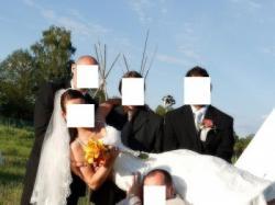 Sprzedam suknię ślubną La Sposa model Miel - rozmiar 36 - 38