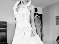 Sprzedam suknię ślubną Linea Raffaelli set 9