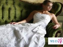 Sprzedam suknie ślubną MAGGIE SOTTERO model BERKLEY białą