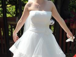 Sprzedam suknię ślubną Merinella 1420 z dodatkami