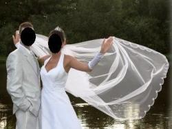 Sprzedam suknie ślubną MIDA + DODATKI