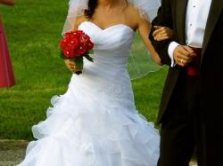 sprzedam suknie ślubną MS MODA