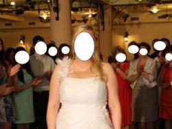 sprzedam suknie ślubną na spory biust