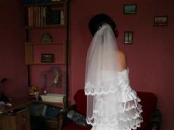 sprzedam suknię ślubną od Kariny - biała Hiszpanka
