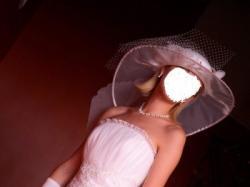 Sprzedam suknię ślubną oraz kapelusz