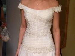 Sprzedam suknie ślubną PAPILIO, model 0615