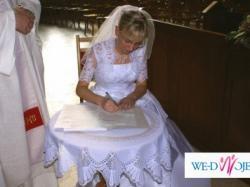 Sprzedam suknię ślubną POLSANTA model KARINA rozm. 36