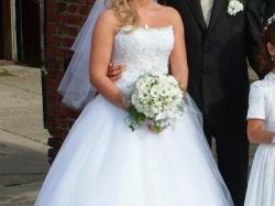 sprzedam suknię ślubną princessa firmy Gala