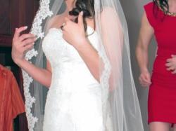 Sprzedam suknie ślubną PRONOVIAS model Halifax+welon
