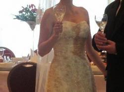 sprzedam suknię ślubną r.34