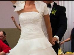 Sprzedam suknię ślubną r.36