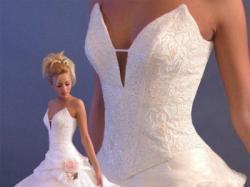 Sprzedam suknię ślubną r. 36/38 firmy Szarm model : 1-343-4