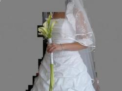 Sprzedam suknię ślubną roz. 38/40,165cm, biała
