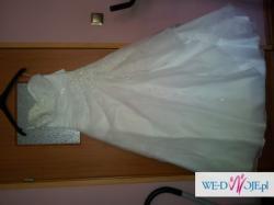 sprzedam suknie ślubną roz 40