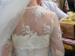 Sprzedam suknię ślubną, rozm. 36, kolor ecru