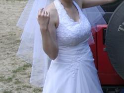 Sprzedam suknię ślubną, rozm.38-40