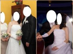 Sprzedam suknię ślubną rozm. 38, przepiękna!! Okazja!