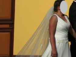 Sprzedam suknię ślubną, rozm.40-42