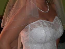 Sprzedam suknie ślubną rozm.40, biała