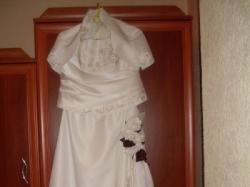 Sprzedam suknie ślubną rozm. 40, wzrost 165-167