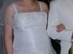 Sprzedam suknię ślubną rozm ok 40 ciążowa