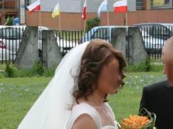 Sprzedam suknię ślubną, rozmaiar 38