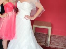 Sprzedam suknię ślubną rozmiar 34