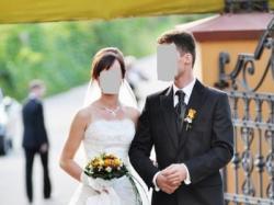 Sprzedam suknie ślubną rozmiar 34/36