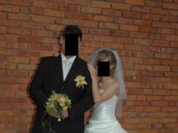 Sprzedam suknie ślubną rozmiar 34/36 PAPA-MICHAEL Model: CAHORS 2007