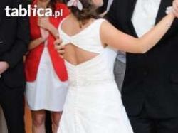 Sprzedam suknię ślubną rozmiar 36/38 wzrost 165 cm