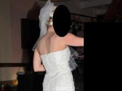 Sprzedam suknię ślubną, rozmiar 36, wzrost 160 cm