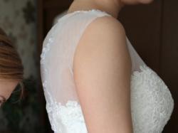 Sprzedam Suknię Ślubną, Rozmiar 38, Ecru, Princessa