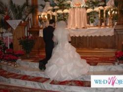 sprzedam suknię ślubną rozmiar 40-42