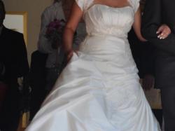 Sprzedam suknię ślubną rozmiar 40 - 42