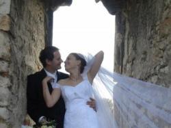 Sprzedam suknie ślubną rozmiar 40 -42 typ rybka koronka