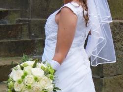 Sprzedam suknię ślubną rozmiar 42/44