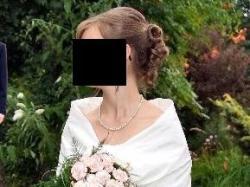 Sprzedam suknię ślubną, rozmiar małe 36
