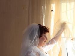 Sprzedam suknie ślubną rozmiar około 48